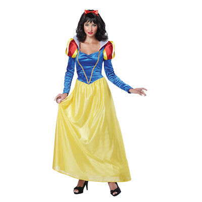 Womens Snow White Dress Adult Halloween - Womens Snow White Kostüm