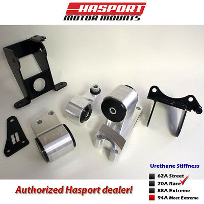 Hasport Mounts 2006-2011 for Civic Si Stock Replacement Mount Kit -