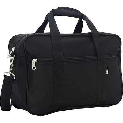 Everest Carry-On Briefcase - Black Non-Wheeled Business Case NEW