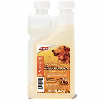 Dip Concentrate Dogs & Dog Premises Fleas Ticks Lice Mange Mites Permethrin 3.2%