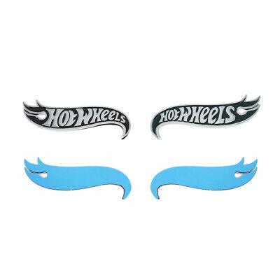 2x Camaro Hot Wheels Edition Deck Lid Emblem Badge Black Highest Quality