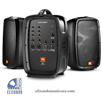 Used, JBL EON206P Powered PA System Very Portable for sale  Shipping to South Africa