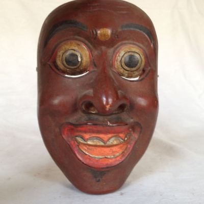 Old Topeng Wayang Bali Java Theatre Mask Wood Mask 7