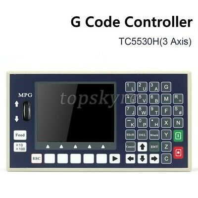 Tc5530h 3 Axis Cnc Controller System G Code Motion Controller W Mpg For Cnc Tps