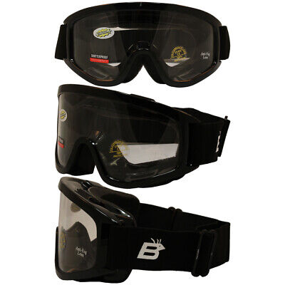 Burning Man Special Night Goggles Fit Over Glasses Anti Fog Clear (Burning Man Glasses)