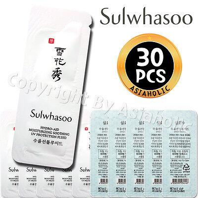 - Sulwhasoo Hydro-aid Moisturizing Soothing UV Protection Fluid 1ml x 30pcs (30ml)