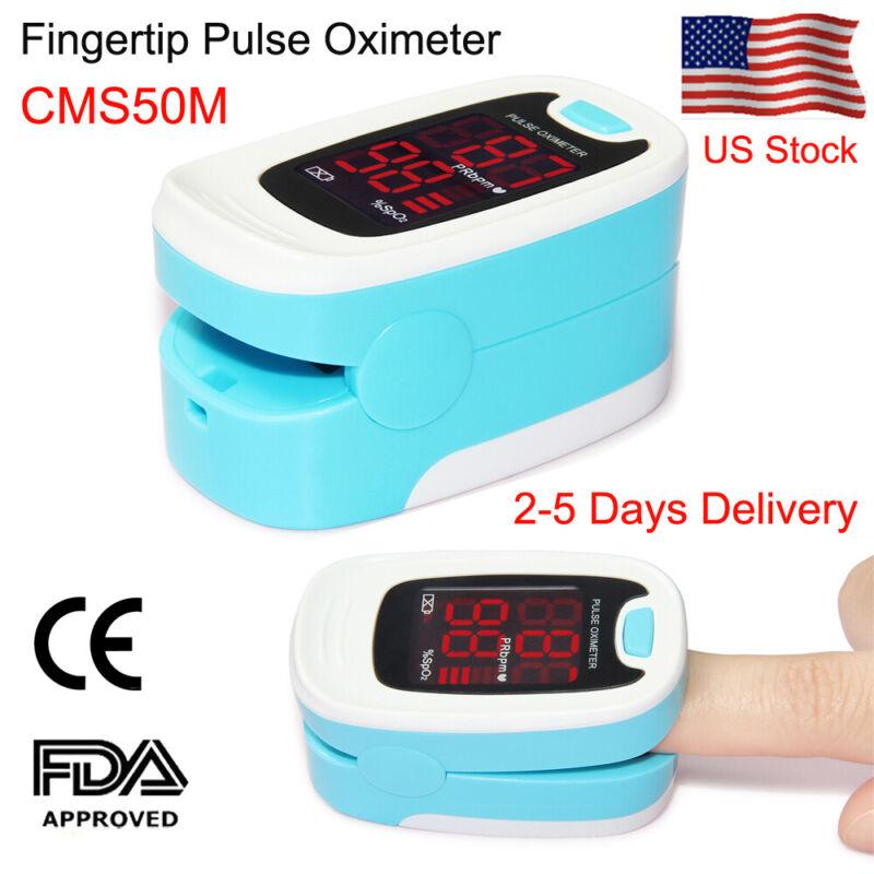 CMS50M Finger Tip Pulse Oximeter Blood Oxygen meter SpO2 PR Heart Rate Monitors