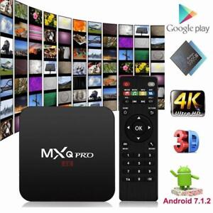 2018 QUAD CORE MXQ / MXQ PRO KODI Android TV Box IPTV