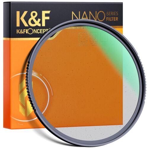 K&F Concept 49/52/55/58/67/72/77/82 mm Black Pro-Mist 1/4 Fi