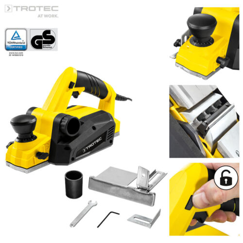 TROTEC Hobel PPLS 10-750 Handhobel Elektrohobel Hobelmaschine 750 W, 82 mm Fasen