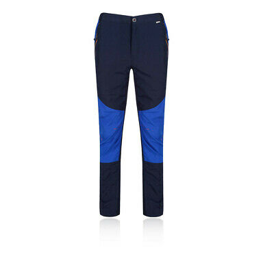 Regatta Mens Sungari Pants Trousers Bottoms Black Blue Sports Outdoors