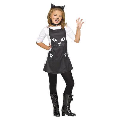 Girls Feline Chic Cat Halloween - Cat Halloween Costumes For Girls