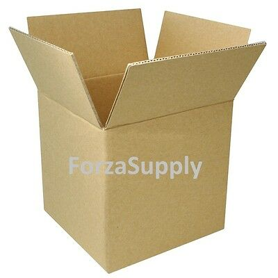 4 Corrugated Cardboard Boxes Shipping Supplies Mailing Moving - Choose 9 Sizes