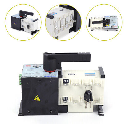 400v 100amp Automatic Transfer Switch Dual Power Changeover Isolation Generator
