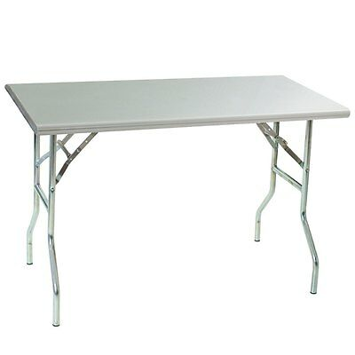 Eagle Group T3072f Stainless Steel Folding Table 30in X 72in