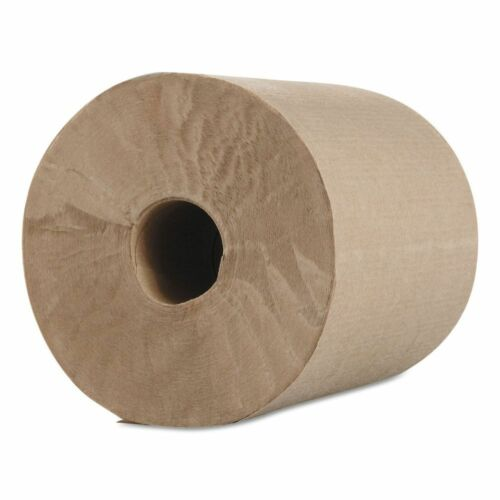 Morcon Paper Hardwound Roll Towels, Kraft, 1-ply, 600 Ft,...