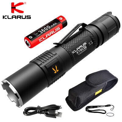 KLARUS XT2CR 1600 Lumen CREE XHP35 LED Bright Rechargeable T