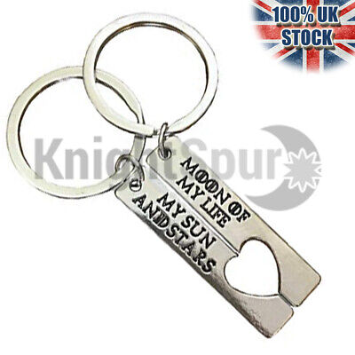 - Couples Dual Moon of my life Key rings Key Chains Game of thrones Khalessi