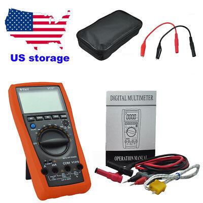 Us Stock Vc97 Dmm Ac Dc Voltmeter Capacitance Resistance Digital Multimeter