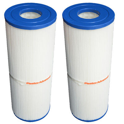2 Pack Pleatco PRB50-IN Spa Filter Cartridge Pentair Rainbow Dynamic IV C-4950