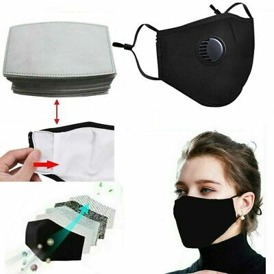 Reusable Washable Activated Carbon Filter With Respirator Filters Face Filter UK