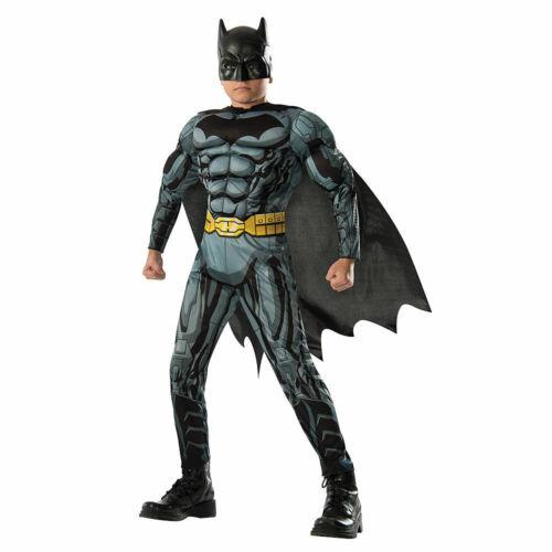 DC COMICS BATMAN Muscle Chest Child Boys Costume Small 4-6 w Defect NEW