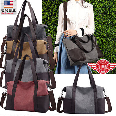 Canvas Bag Purse - YOLANDO Women CANVAS Bags Handbag Shoulder Hobo Purse Messenger Tote Bag T0042