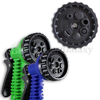 Garden Lawn Hose Nozzle Head Water Sprayer Green/Blue 7 SPRAY PATTERNS 75+SOLD ()