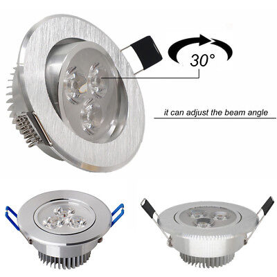 3W Cool/Warm White LED Recessed Ceiling Down Bulb Spot Light Lamp Home Decor