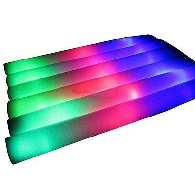 mit 3 Blinkmodi Partybeleuchtung Schaumstoffstab Glowstick (Glow Stick)