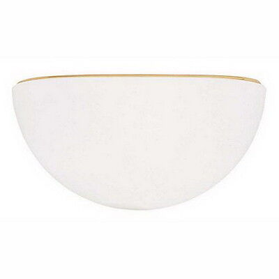White Diffuser With Polished Brass Trim Wall -