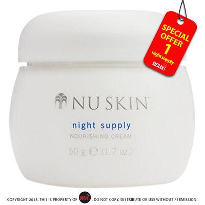 Nu skin Night Supply Nourishing Cream 50g/ 1.7 oz. Nuskin Nutricentials ()