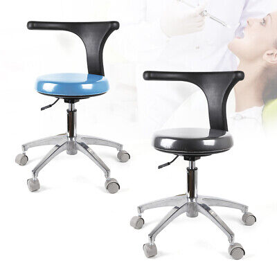 Dental Assistant Stool Pu Leather For Dental Implant And Microscope Operattion