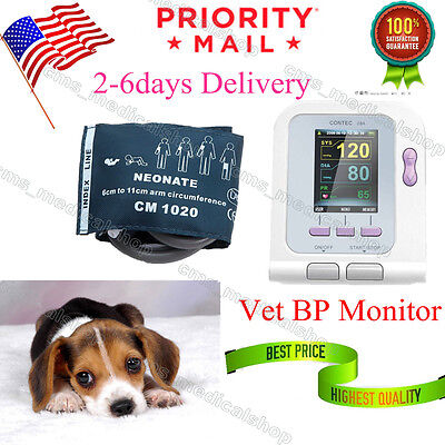 Vet Veterinary Blood Pressure Monitor Sphygmomanometer Nibpusa Stock