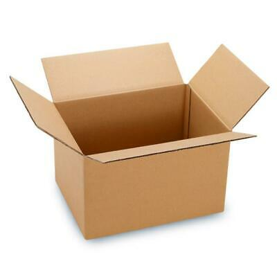 100 8x6x4 Cardboard Boxes Mailing Moving Packing Shipping Box