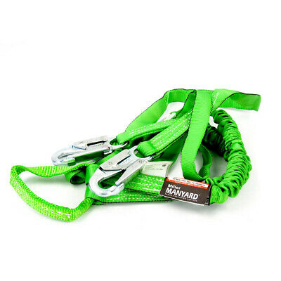 Miller Manyard Shock Absorbing Lanyard 6 Ft With Locking Snap Hook 266twls6ftgn