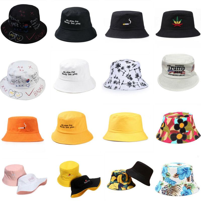 Men Women Bush Bucket Hat Cap Fishing Summer Sun Festival Be