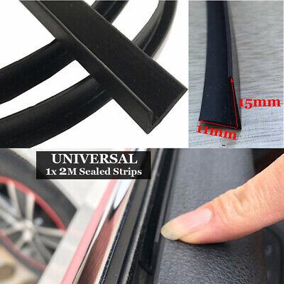 Coche Goma Sello Under-Door Parabrisas Panel Ruido Sealed-Trim Moulding-Strips