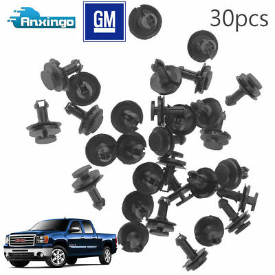 30X Air Dam Deflector Valance Front Bumper Clips For Chevy Silverado 1500 (Chevrolet Suburban 2500 Air)