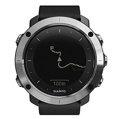 SUUNTO TRAVERSE Smart watch SS021843000 GPS Mountain climbing barometer black