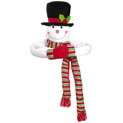 Ornament Christmas Tree (TOYMYTOY Christmas Tree Topper Snowman Hugger Christmas Snowman Tree)