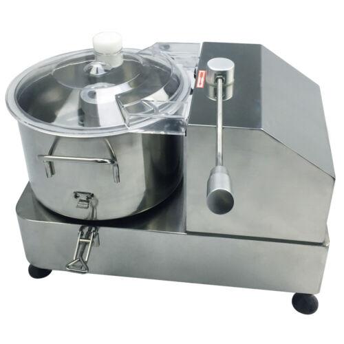 Küchenkutter Gastro Tischkutter Küchenmaschine Edelstahl Fleischkutter Kutter 9L