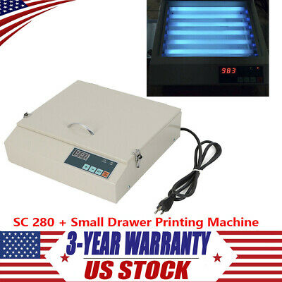 50w Precise Uv Exposure Unit Screen Drawer Printing Machine W Sc 280 Usa
