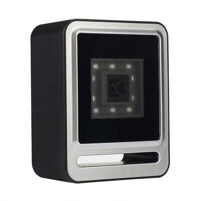 Desktop Barcode Scanner 1d 2d Qr Code Usb Laser Counter Top Pos Bar Code Reader
