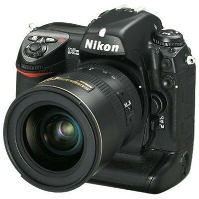 USEd Nikon D D2X 12.4MP Digital SLR Camera - Black (Body Only) Excellent FREESHI Nikon D2x Slr
