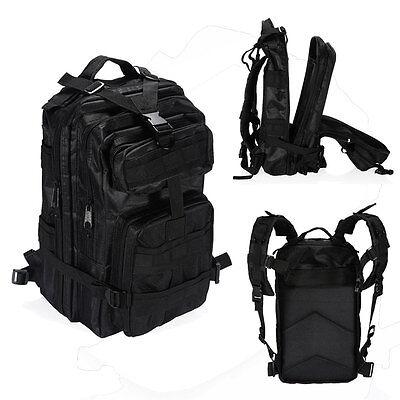 Multifunctional Camera Backpack Bag Padded Case for Canon Nikon Sony DSLR Black