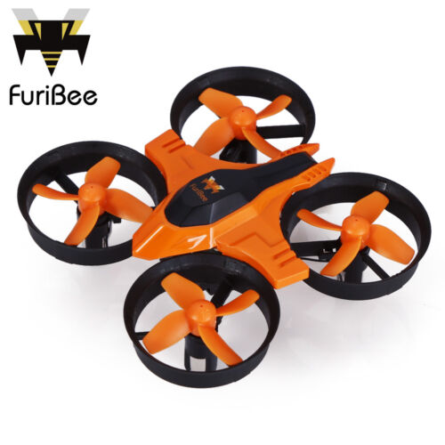 FuriBee F36 2.4GHz 4 Channel 6 Axis Gyro Quadcopter One Key Auto Return /3D Flip