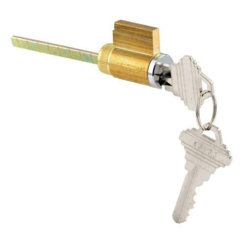 Door Cylinder Lock 1-1/4 Inch Schlage Shaped W/ 2 Keys Home Tumbler Lock NEW