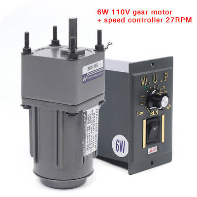 Ac110 V Geared Motor Speed Controller Governor Reducer Single-phase Flexible Usa