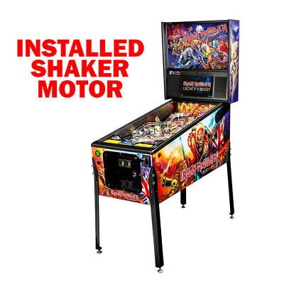 Stern Iron Maiden Pro Pinball Machine with Shaker Motor